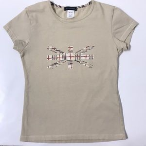 Burberry Girls Union Jack Graphic Tee